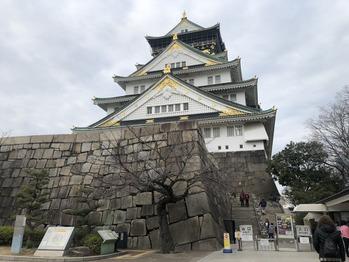 初大阪城!!!